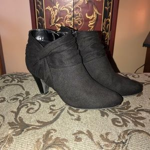 Black Ankle Boots Size 9.5
